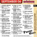 [Saving Jane] Promo Only Mainstream Radio September 2006